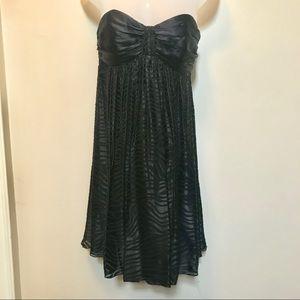 Express silk swing dress